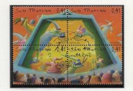 2003 USED San Marino,mi 2105-8 - Oblitérés