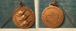 M_p> Medaglia 40° ANNIVERSARIO DELLA FONDAZIONE DELLA SEZIONE DI ASTI - 20 MAGGIO 1962 - Royaux/De Noblesse