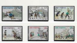 2003 USED San Marino,mi 2113-18 - Oblitérés