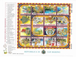2003 USED San Marino,mi 2120-35 - Oblitérés