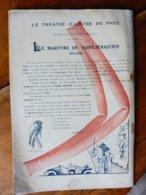 Dessin Publicitaire De E. L. Cousyn  Pour  Michelin (Le Théâtre Illustré Du Pneu)   LE MARTYRE DE SAINT-SÉBASTIEN - Unclassified