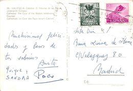 1969.- TARJETA DE VALENCIA A MADRID. ED VAL Nº 5 Y ED 1934 - 1961-70 Storia Postale