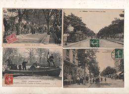 SUPER LOT DE 100 CPA DES HAUTS DE SEINE   92 - 100 - 499 Cartoline