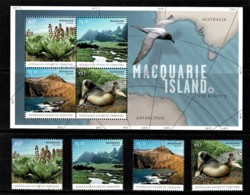 Australian Antarctic 2010 Macquarie Island Set Of 4 + Minisheet CTO - Territorio Antártico Australiano (AAT)