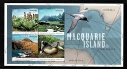 Australian Antarctic 2010 Macquarie Island Minisheet CTO - Territorio Antártico Australiano (AAT)