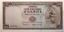 Timor - 100 Escudos - 1963 - PICK 28a.6 - NEUF - Timor