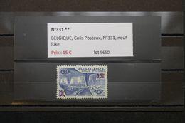 BELGIQUE - N° Yvert  Colis Postal 331 ** Cote 55€ - L 63517 - Railway