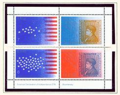 IRELAND  -  1976 Americal Revolution Miniature Sheet  Unmounted/Never Hinged Mint - Blocks & Sheetlets