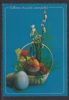 HUNGARY - 1994.Postal Stationery Postcard - Easter /Easter Eggs I. USED!!! Cat.No.1438/008. - Interi Postali