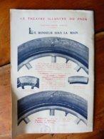 Dessin Publicitaire   Pour  Michelin (Le Théâtre Illustré Du Pneu)   LE BONHEUR SOUS LA MAIN - Transports