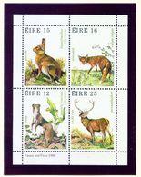 IRELAND  -  1980 Wildlife Miniature Sheet  Unmounted/Never Hinged Mint - Blocks & Sheetlets