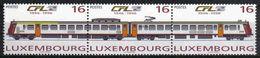 Luxemburg 1996 Train Strip Y.T. 1335/1336 ** - Treinen