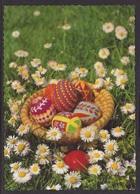 HUNGARY - 1993.Postal Stationery Postcard - Easter/Easter Eggs II.  USED!!! Cat.No.1409/003. - Interi Postali