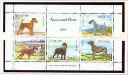 IRELAND  -  1983 Dogs Miniature Sheet  Unmounted/Never Hinged Mint - Blocks & Sheetlets