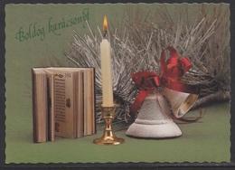 HUNGARY - 1993.Postal Stationery Postcard - Christmas / Bell II. USED!!! Cat.No.1430/012. - Interi Postali