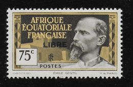 AFRIQUE EQUATORIALE FRANCAISE - AEF - A.E.F. - 1940 - YT 112** - Neufs