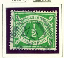 IRELAND  -  1925 1/2d Postage Due Used As Scan - Segnatasse