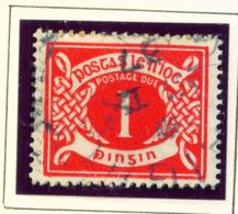 IRELAND  -  1925 1d Postage Due Used As Scan - Segnatasse
