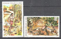 Congo - Hunting - Boar - Spear - MNH - Ohne Zuordnung