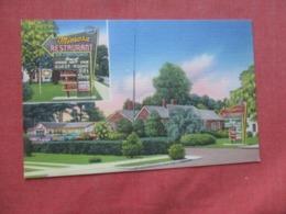 Mimosa Restaurant  Baxley  Georgia   Ref 4168 - Etats-Unis