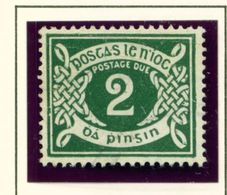 IRELAND  -  1940-1 2d Postage Due Used As Scan - Segnatasse