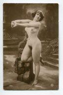 NU French Charm 113 Edit VB Série 186  Jeune Femme Nue  Etirant Ses Bras Et Mains  - EROTISME - Fine Nudes (adults < 1960)
