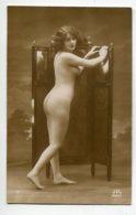 NU French Charm 114  Edit RR Série 2 Jeune Femme Nue Au Paravent Etude De Profil    EROTISME - Fine Nudes (adults < 1960)
