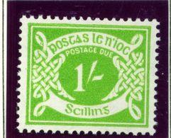 IRELAND  -  1953-69 1 Shilling Postage Due Unmounted/Never Hinged Mint - Segnatasse