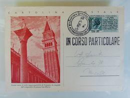 CARTOLINA POSTALE IN CORSO PARTICOLARE 1954 - FIERA DI MILANO - Italy