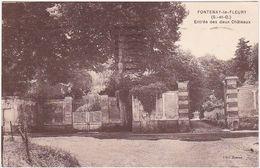 78 - FONTENAY-le-FLEURY (S.-et-O.) - Entrée Des Deux Châteaux - 1942 / Timbre Pétain - Other Municipalities