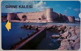 100 Units Turkish Cyprus  KKTC Girne Kalesi - Chypre