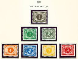 IRELAND  -  1971 Postage Due Set Unmounted/Never Hinged Mint - Segnatasse