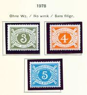 IRELAND  -  1978 Postage Due Set Unmounted/Never Hinged Mint - Segnatasse