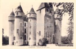 Chazelet - Chateau Du XVe Siecle - Albanse Laforet - Castle - Old Postcard - France - Unused - Other Municipalities