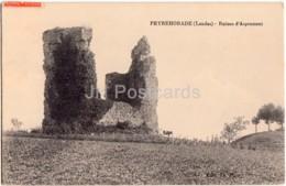 Peyrehorade - Ruines D'Aspremont - 1916 - Old Postcard - France - Used - Peyrehorade