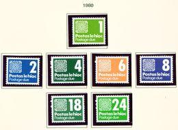 IRELAND  -  1988 Postage Due Set Unmounted/Never Hinged Mint - Segnatasse