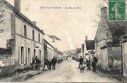 Pont-sur-Vanne. - La Rue Du Pont. - Bureau De Tabac. - Autres Communes