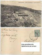 CALTANISSETTA 1.12.1916 ZOLFARA GESSOLUNGO - Come Da Foto - Molto Rara - Caltanissetta