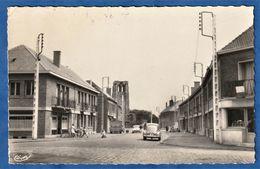 CPSM 62 COURRIERES (P. De C) - Rue Louis Breton - France