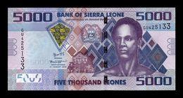 Sierra Leona Leone 5000 Leones 2015 Pick 32c SC UNC - Sierra Leone