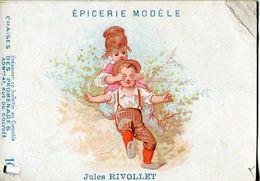 Chromos .n° 70 . Epicerie Modele . Jules Rivollet . - Altri