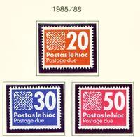 IRELAND  -  1980-8 Postage Due Set Unmounted/Never Hinged Mint - Segnatasse