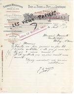 29 - Finistère - PONT-L'ABBE-LAMBOUR - Facture NICOLAS - Scierie, Bois Du Nord, Du Pays Et D'amérique - 1913 - REF 154C - France