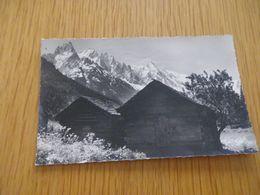 HAUTE SAVOIE - CHAMONIX MONT BLANC - N°1332 - Aiguilles - Circulé 1960 - Alger 0,15F - Chamonix-Mont-Blanc