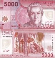 CHILE       5000 Pesos       P-163e       2014       UNC - Chili