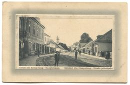 KIMPOLUNG CAMPULUNG - BUKOWINA ROMANIA, K.u.K. MILITARZENSUR, Year 1915 - Rumänien