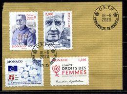 MONACO . Série Commémorations  Du 1er Semestre 2020 Oblitérée   (2800) - Monaco
