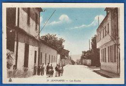 CPA ALGERIE - JEMMAPES - Les Ecoles - Altre Città