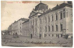 SZEGED  HUNGARY, Year 1909 - Hongrie