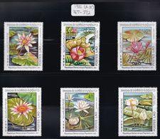 Laos - 1982 - Sc 367 - 372 - Water Lilies - MNH - Plants